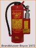 Levensduur van brandblussers