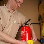 Brandbusser gekeurd door onderhoudmonteur