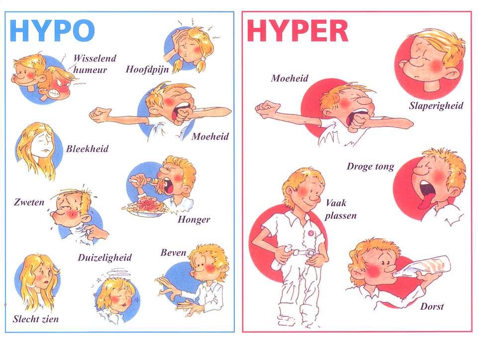 In de Eerste Hulp is het belangrijk om suikerziekte te kunnen ...