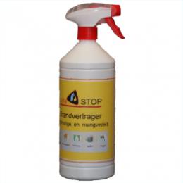 Brandwerende spray voor stoffen van kunst en mengvezels (Alfastop)