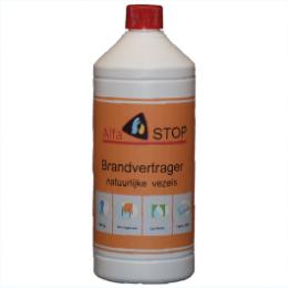 Brandvertrager voor natuurlijke vezels (Alfastop)