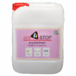 Voordeelverpakking Alfastop brandvertragende vloeistof voor kunststof en decoratie