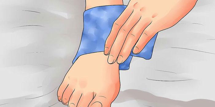Koelen bij kneuzing en verstuiking