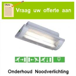 Onderhoud van noodverlichting