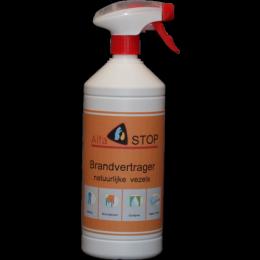 Brandwerende spray voor natuurlijke vezels (Alfastop)
