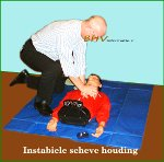 Instabiel houding tijdens reanimatie