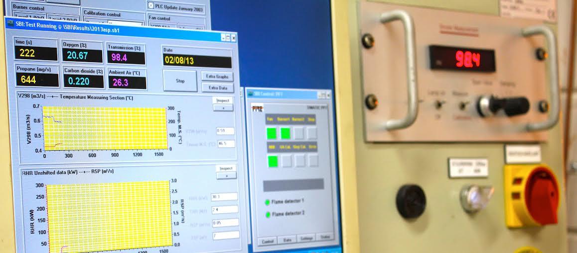 Testen conform NEN 13501-1